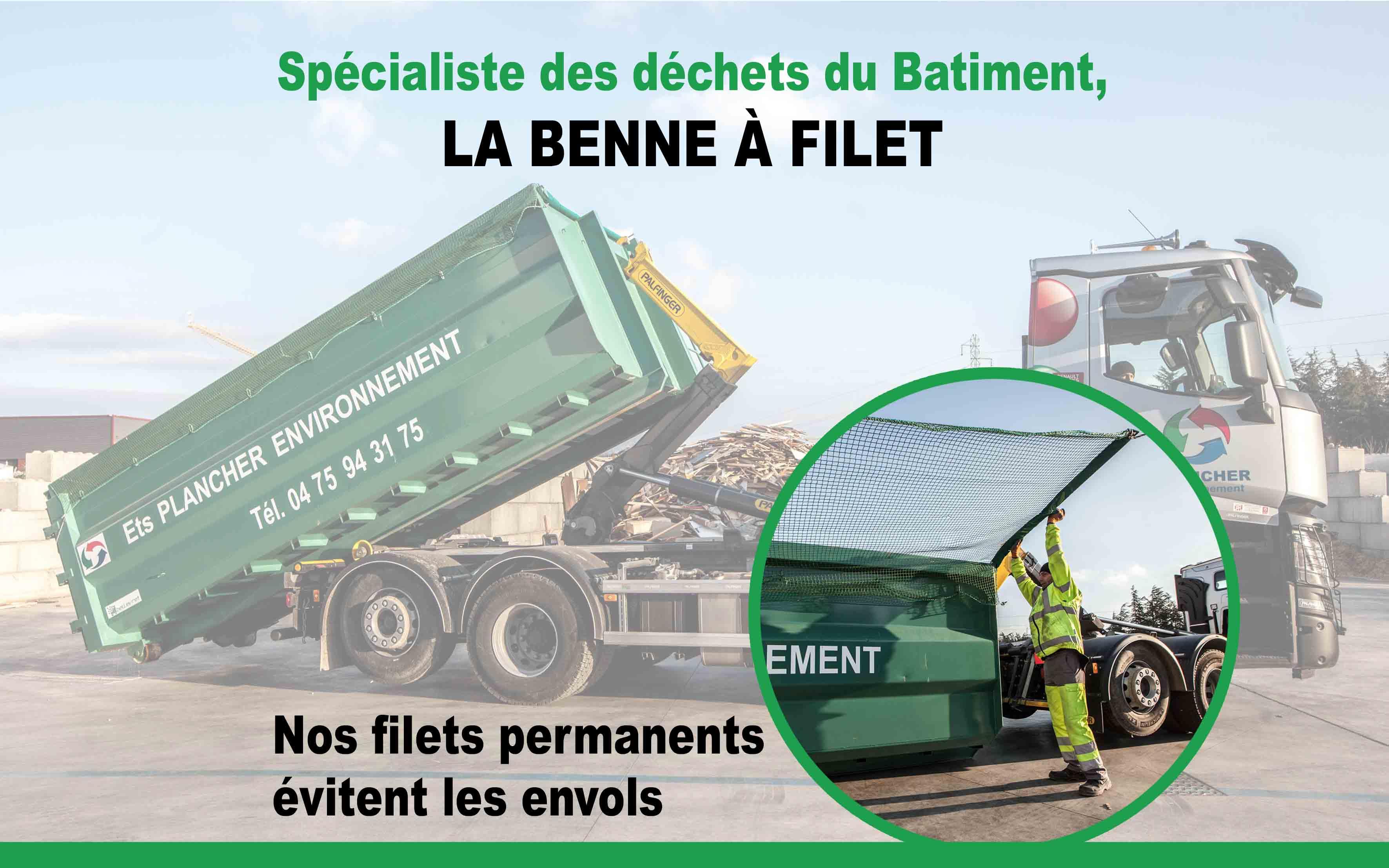 Plancher Environnement, spécialiste des bennes en location Drôme et Ardèche